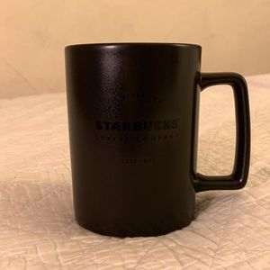 Black Starbucks Mug